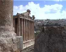 Temple Of Bacchus, Baalbek (Lebanon)