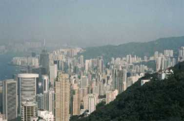 Skyline from Victoria Peak (Hong Kong)
